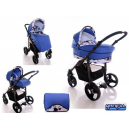 Carucior multifunctional 3 in 1 Paloma Happy Blue - BBC1017