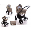 Carucior multifunctional 3 in 1 Paloma Happy Brown - BBC1018