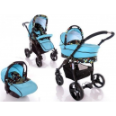 Carucior multifunctional 3 in 1 Paloma Turquoise - BBC1024