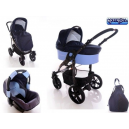 Carucior multifunctional 3 in 1  Diamond Blue  - BBC1025