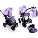 Carucior multifunctional 3 in 1  Diamond Purple Pink - BBC1028