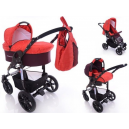 Carucior multifunctional 3 in 1  Diamond Purple Red - BBC1029