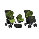 Carucior multifunctional 2 in 1  RIO Black & Green Sunny City  - BTN00371